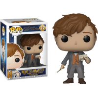 Fantastic Beasts 2: The Crimes of Grindelwald - Newt Scamander with Postcard Pop! Vinyl Figure