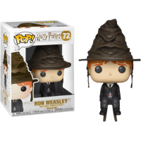 Harry Potter - Ron Weasley with Sorting Hat Pop! Vinyl Figure