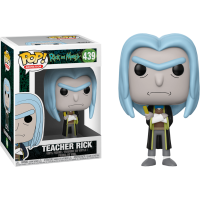 Rick and Morty - Teacher Rick Pop! Vinyl Figure