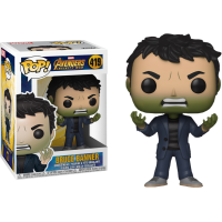 Avengers 3: Infinity War - Bruce Banner with Hulk Head Pop! Vinyl Figure