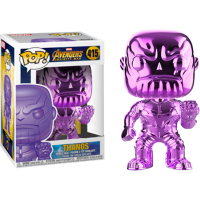 Avengers 3: Infinity War - Thanos Purple Chrome Pop! Vinyl Figure