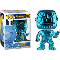 Avengers 3: Infinity War - Thanos Blue Chrome Pop! Vinyl Figure
