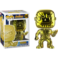 Avengers 3: Infinity War - Thanos Yellow Chrome Pop! Vinyl Figure