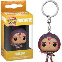 Fortnite - Valor Pocket Pop! Vinyl Keychain