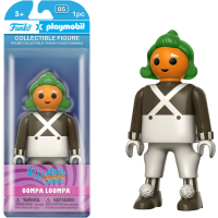 Willy Wonka and the Chocolate Factory - Oompa Loompa Playmobil 6 Inch Action Figure