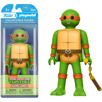 Teenage Mutant Ninja Turtles - Michelangelo Playmobil 6 Inch Action Figure