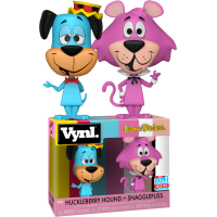 Hanna-Barbera - Huckleberry Hound and Snagglepuss Vynl. Vinyl Figure 2-Pack (2018 Fall Convention Exclusive)