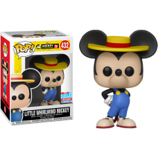 Disney - Little Whirlwind Mickey Mouse 90th Anniversary Pop! Vinyl Figure (2018 Fall Convention Exclusive)