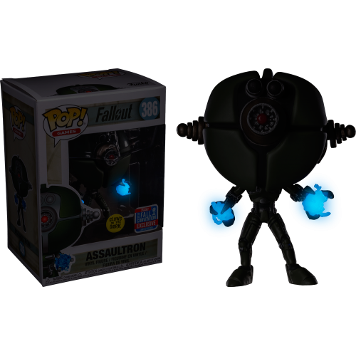 Fallout - Assaultron Glow in the Dark Pop! Vinyl Figure (2018 Fall Convention Exclusive)