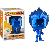 Dragon Ball Z - Super Saiyan Vegeta Blue Chrome Pop! Vinyl Figure (2018 Fall Convention Exclusive)