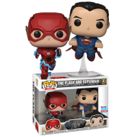 Justice League (2017) - The Flash and Superman Racing Pop! Vinyl Figure 2-Pack (2018 Fall Convention Exclusive)