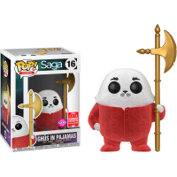 Saga - Flocked Ghüs with Pajamas Pop! Vinyl Figure (2018 Summer Convention Exclusive)