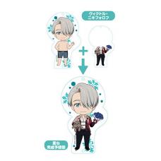 Yuri!!! On Ice Nendoroid Plus Dress Up Acrylic Key Ring: Yuri!!! On Ice (Viktor Nikiforov)