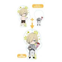 Yuri!!! On Ice Nendoroid Plus Dress Up Acrylic Key Ring: Yuri!!! On Ice (Yuri Plisetsky)