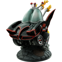 Batman - Stylized 1966 Batmobile Statue (Black and Red)