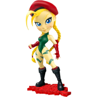 Street Fighter - Cammy 7 inch Knock-Outs Vinyl Statue