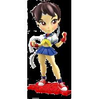 Street Fighter - Sakura Knock-Outs 7 inch Vinyl Figure