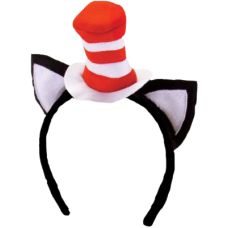Dr Seuss - Cat in the Hat Headband