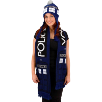 Doctor Who - Tardis Scarf