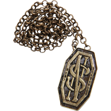 Fantastic Beasts and Where to Find Them - Newt's Monogram Necklace/Pin