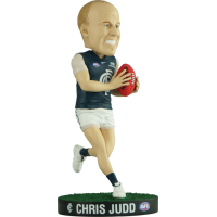 AFL Football - Chris Judd Bobble Head (Carlton Blues)
