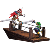 The Legend of Zelda: Skyward Sword - Link vs Scervo Sandship Diorama