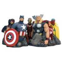 The Avengers - Alex Ross Avengers Assemble Fine Art Statue