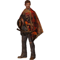 The Walking Dead - Daryl Dixon 18 Inch Statue