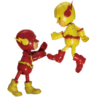 The Flash - Flash and Reverse Flash Hybrid Metal Action Figure 2-Pack