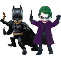 Batman: The Dark Knight - Batman and Joker 2-Pack Hybrid Metal Figuration Box Set