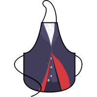 Doctor Who - 12th Doctor Apron in a Tube