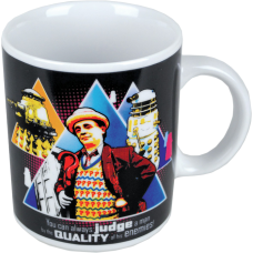 Doctor Who - 7th Doctor Sylvester McCoy Boxed Coffee Mug