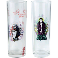 Suicide Squad - Joker and Harley Tumbler 2-Pack