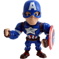 Captain America: Civil War - Captain America 6 inch Metals Die-Cast Action Figure