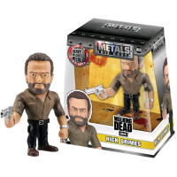The Walking Dead - Rick 4 inch Metals Die-Cast Action Figure