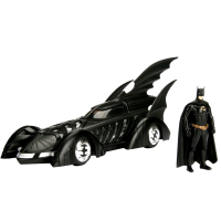 Batman Forever - Batmobile 1:24 Scale Die-Cast Car Replica with Batman Action Figure