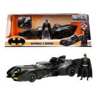 Batman - Batmobile 1989 1:24 Scale Die-Cast Car Replica w/Batman Action Figure