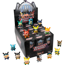Dunny - DC Justice League Dunny Blind Box Vinyl Keychain Display (24 Units)