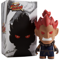 Street Fighter - Akuma 7 inch Vinyl Figure