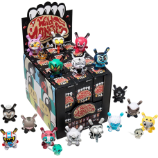 Dunny - The Wild Ones 3 Inch Blind Box Vinyl Figure (Display of 24)