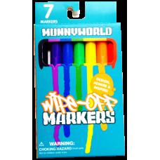 Munny World - Wipe Off Marker 7-Pack