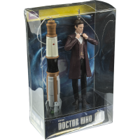 Doctor Who - 11th Doctor and Sonic Screwdriver 4.5 Inch Ornament 2 Pack