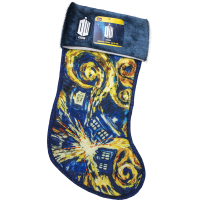 Doctor Who - Exploding TARDIS Van Gogh Christmas Stocking