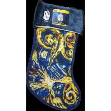 Doctor Who - Exploding TARDIS Van Gogh Christmas Stocking