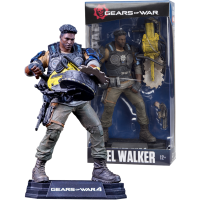 Gears of War 4 - Del Walker 7 inch Colour Tops Action Figure
