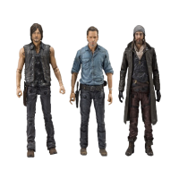 The Walking Dead - Rick, Daryl and Jesus Allies Deluxe Action Figure 3-Pack