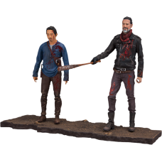 The Walking Dead - Negan and Glenn Deluxe 5 inch Action Figure 2-Pack