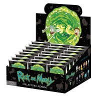 Rick and Morty - Series 1 3D Figural Blind Bag Keychain (Display of 24)