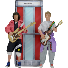 Bill and Ted's Excellent Adventure - Wyld Stallyns 8 inch Action Figures 2-Pack