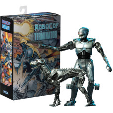 Robocop Vs The Terminator - Endocop and Terminator Dog 7 Inch Action Figure 2-Pack